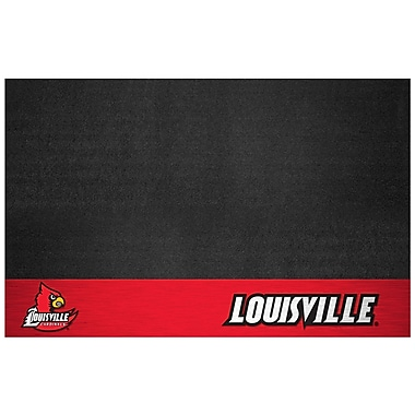 FANMATS NCAA Grill Utility Mat; University of Louisville