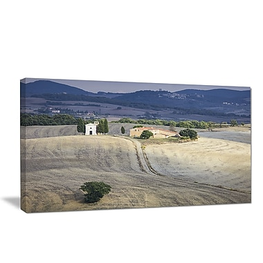 DesignArt 'Beautiful Sandy Landscape' Photographic Print on Wrapped Canvas; 30'' H x 40'' W x 1'' D