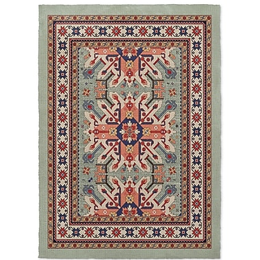Loon Peak Cabo Light Green Area Rug; 3' x 5'