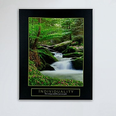 CYRG 'Individuality' Photographic Print on Wrapped Canvas