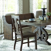 Darby Home Co Phyllis Wood Dining Bench