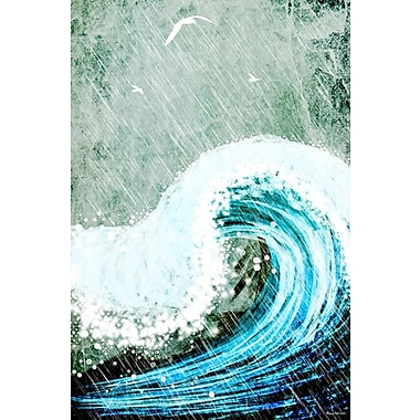 Maxwell Dickson ''The Great Wave'' Painting Print on Canvas; 36'' H x 24'' W