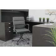 Latitude Run Adeline Executive Chair; Black