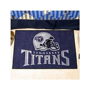 FANMATS NFL - Tennessee Titans Doormat; 1'8'' x 2'6''