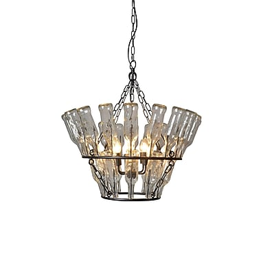 Y Decor 4 Light Candle-Style Chandelier