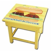 Margaritaville ''Cheeseburger'' Side Table