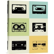 Naxart 'Mix Tape Poster' Graphic Art on Wrapped Canvas; 16'' H x 12'' W x 1.5'' D