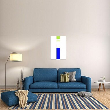 Naxart 'Tobu' Graphic Art on Wrapped Canvas; 36'' H x 24'' W x 1.5'' D