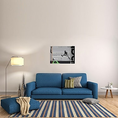 Naxart 'Olympic Wars' Graphic Art on Wrapped Canvas; 25.56'' H x 36'' W x 1.5'' D