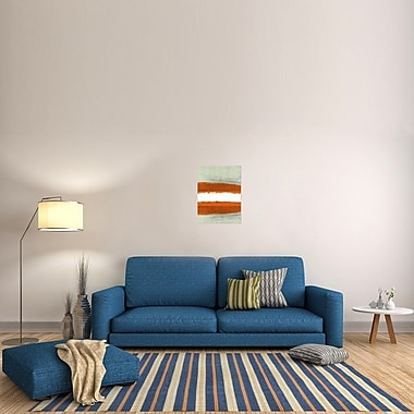 Naxart 'Abstract Stripe Theme' Painting Print on Wrapped Canvas; 24'' H x 18'' W x 1.5'' D