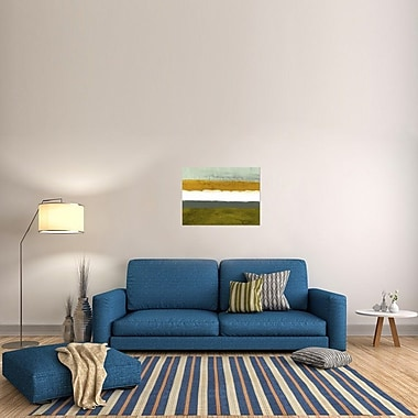 Naxart 'Abstract Stripe Theme' Graphic Art on Wrapped Canvas; 24'' H x 32'' W x 1.5'' D