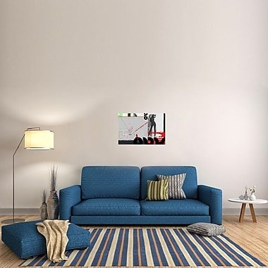 Naxart 'Love Is Around Again' Graphic Art on Wrapped Canvas; 20'' H x 30'' W x 1.5'' D