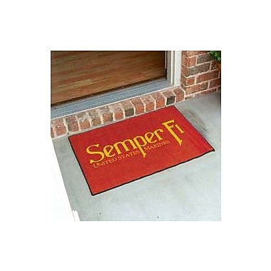 FANMATS United States Armed Forces Doormat; 5' x 6'