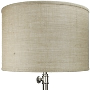 Fenchel Shades 18'' Linen Drum Lamp Shade