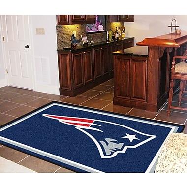 FANMATS NFL - New England Patriots 4x6 Rug; 5' x 8'