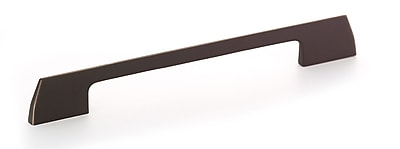 Richelieu 7 9/16'' Center Bar Pull; Brushed Oil-Rubbed Bronze
