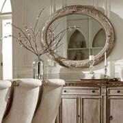Astoria Grand Chirk Wall Mirror; Gray