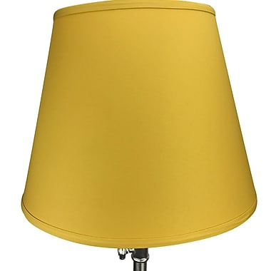 Fenchel Shades 17'' Linen Empire Lamp Shade; Curry