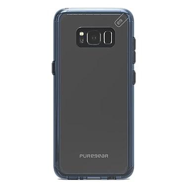 Puregear – Étui Slim Shell Pro pour GS8, transparent/bleu (61755PG)