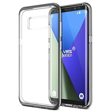 Vrs Design Crystal Bumper GS8+, Clear/Grey (VRSG8ECRBDS)