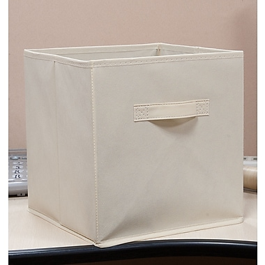 Homestar (Z1630036P3) Fabric Bin-Beige, 3/Pack
