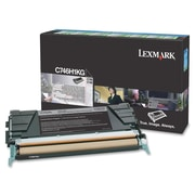 Lexmark C746H1KG Black High Yield Return Program Toner Cartridge