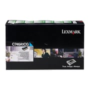 Lexmark C746A1CG C746,  C748 Cyan Return Program Toner Cartridge