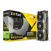 Zotac GeForce GTX 1080 Ti AMP Extreme Graphic Card, GDDR5X, 11 GB, English (ZT-P10810C-10P)