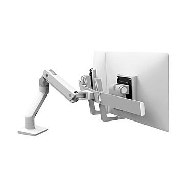 Ergotron – Bras pour moniteur double HX de bureau HX 45-476-026, aluminium