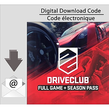 Driveclub Full Game & Season Pass Bundle, PS4 [Download]