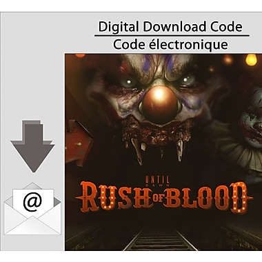 Until Dawn Rush of Blood, PS4 [Download]