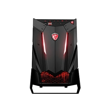 MSI-PC de jeu Nightblade 3, Intel Core i7-7700 3,6GHz, DD 1To + SSD 128Go, DDR4 16 Go, NVIDIA GeForce GTX 1060, Win10