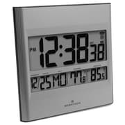 Marathon Atomic Wall Clock With 8 Timezones Indoor Outdoor