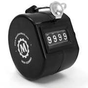 Marathon Plastic Handheld Tally Counter, Black