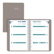 "2017-2018 Brownline® Academic Weekly Planner, 8"" x 5"", July '17-July '18, Taupe (CA101.FASX)"