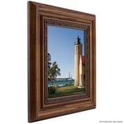 Astoria Grand 2.75'' Wide Bunker Hill Real Wood Distressed Picture Frame / Poster Frame; 5'' x 7''