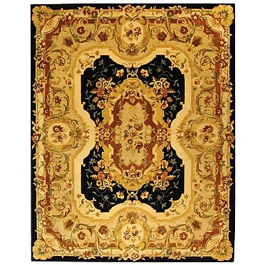 Astoria Grand Bedgood Navy/Beige Area Rug; 5' x 8'