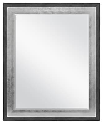 MCSIndustries Concrete Accent Wall Mirror