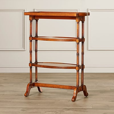 Ophelia & Co. Chuck End Table; Antique Cherry