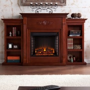 Astoria Grand Beeley Electric Fireplace; Mahogany
