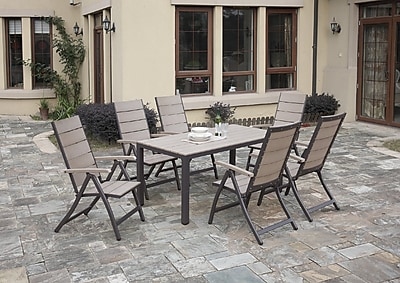 A&J Homes Studio Carron 7-Piece Dining Set