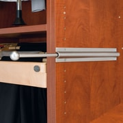 Rev-A-Shelf Pull-Out Standard Valet Rod; Satin Nickel