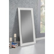 Red Barrel Studio Rectangle Contemporary Full Length Mirror; White