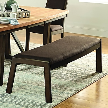Loon Peak Delwood Wood Dining Bench