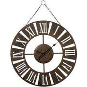 Loon Peak 30'' Hanging Roman Numeral Wall Clock