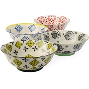 Signature Housewares Dozza 4 Piece Dining Bowl Set