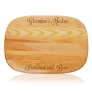 Carved Solutions Everyday ''Grandma's Kitchen'' Cutting Board