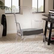 Wholesale Interiors Baxton Studio Tasha Wing back Chair