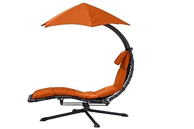 Vivere Hammocks The Original Dream 360  Chair Hammock; Orange Zest