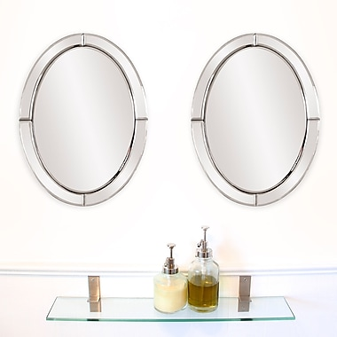 Darby Home Co Modern Oval Mirror